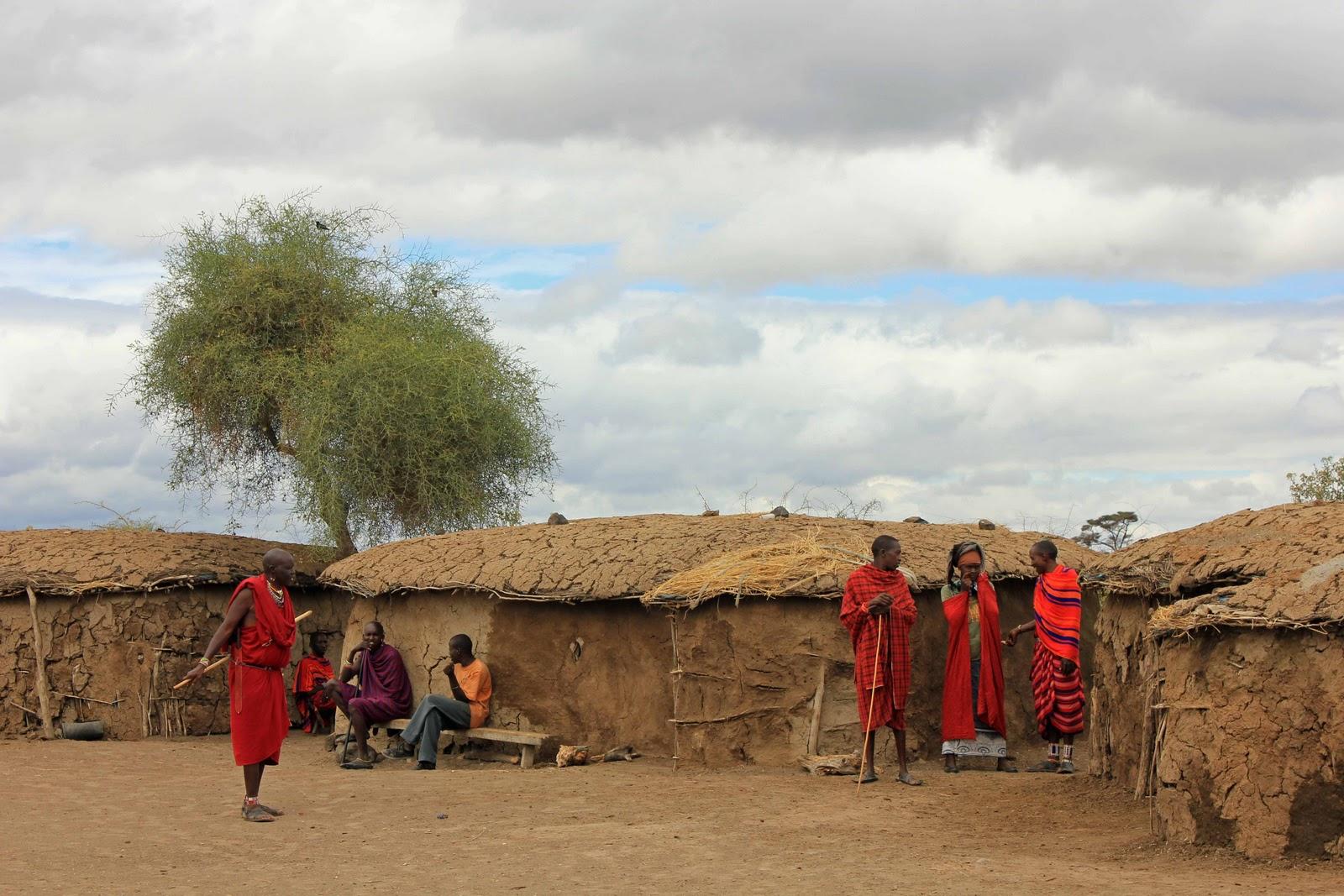 Masai village 1